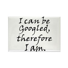 Googled I am Rectangle Magnet
