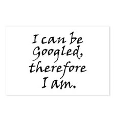 Googled I am Postcards (Package of 8)