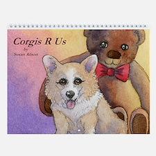 Corgis R Us Wall Calendar