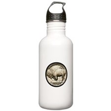 Buffalo Nickel Water Bottle