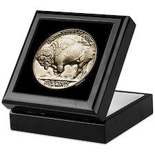 Buffalo Nickel Keepsake Box