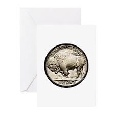 Buffalo Nickel Greeting Cards (Pk of 20)