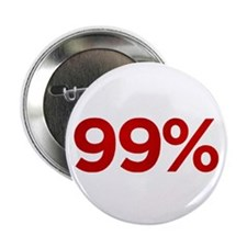 """99 Percent 2.25"""" Button"""
