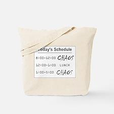 Organized Chaos Tote Bag
