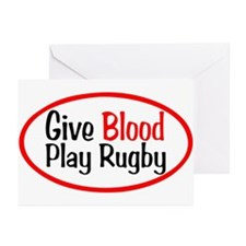 Play Rugby Greeting Cards (Pk of 20)