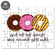 I love donuts! Puzzle