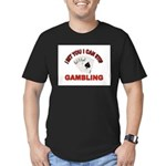 DEAL ME IN Men's Fitted T-Shirt (dark)