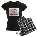 DEAL ME IN Women's Dark Pajamas