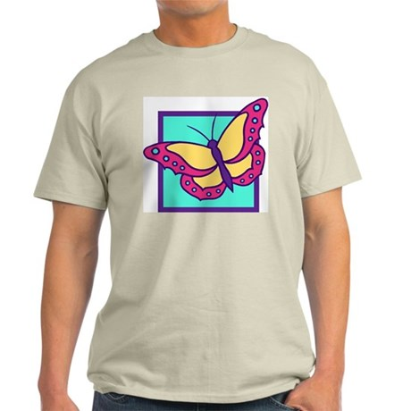 Butterfly209 Ash Grey T-Shirt