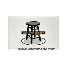 West End Comedy Rectangle Magnet