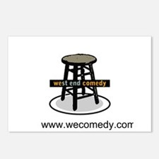 West End Comedy Postcards (Package of 8)