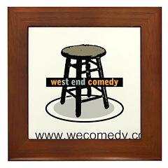 West End Comedy Framed Tile