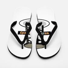 West End Comedy logo w/o webs Flip Flops