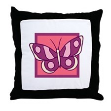 Butterfly212 Throw Pillow