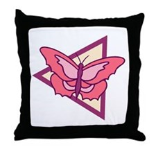 Butterfly213 Throw Pillow