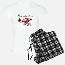 Santa Rugby Christmas Pajamas