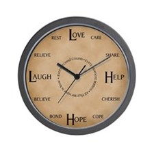 Love, Help, Hope, Laugh: The Caregiver's Clock