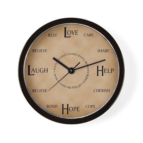 Love, Help, Hope, Laugh: The Caregiver's Clock