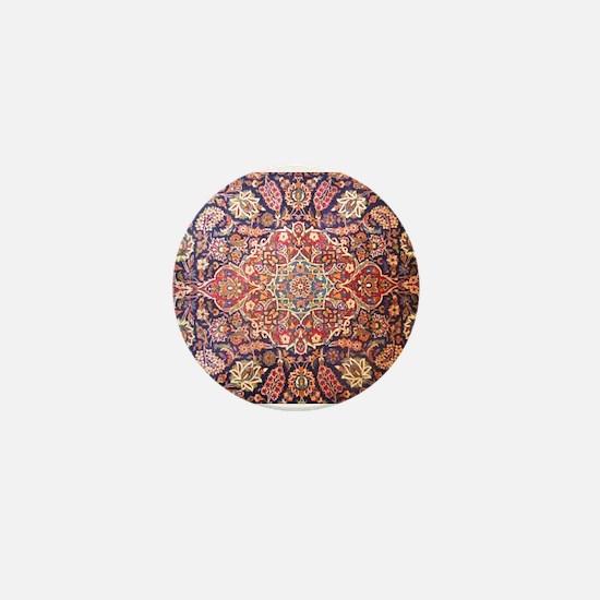 Persian carpet 1 Mini Button