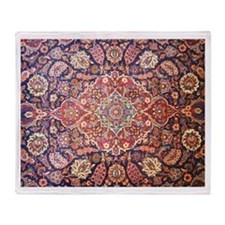 Persian carpet 1 Throw Blanket