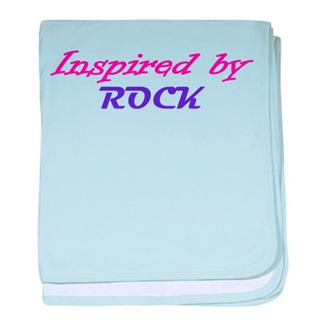 Inspired By Rock baby blanket