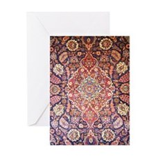 Persian carpet 1 Greeting Card