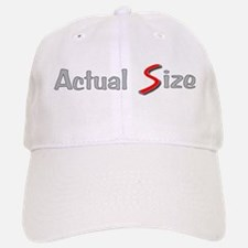 Actual Size Baseball Baseball Cap