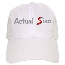 Actual Size Baseball Cap