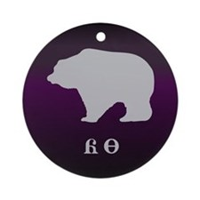 Cherokee Bear - Yonah Ornament (Round)