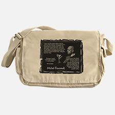 Foucault's Critique Messenger Bag