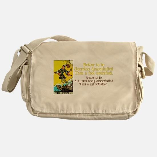 Better Dissatisfied Messenger Bag