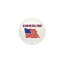 GOD BLESS AMERICA Mini Button (100 pack)
