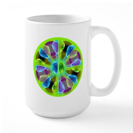 Brainy Kaleidoscope Large Mug