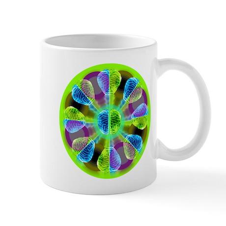 Brainy Kaleidoscope Mug
