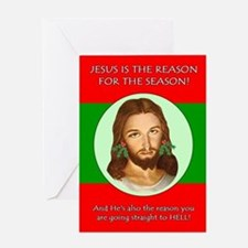 Season Hell Greeting Card
