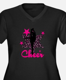 Pink Cheerleader Plus Size T-Shirt