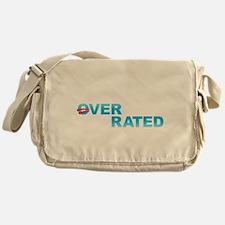 Obama Overrated Messenger Bag