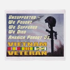 Unsupported Vet Throw Blanket