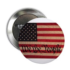 "WE THE PEOPLE WITH FLAG OF FR 2.25"" Button"