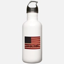 WE THE PEOPLE WITH FLAG OF FR Water Bottle