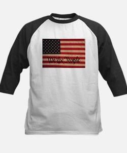 WE THE PEOPLE WITH FLAG OF FR Kids Baseball Jersey