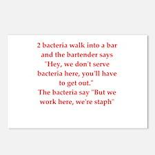 Unique Germ Postcards (Package of 8)