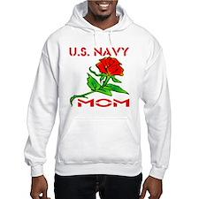 U.S. Navy Mom w/ Rose Jumper Hoody