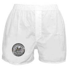 USN Navy Seabees Can Do Metal Boxer Shorts