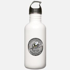 USN Navy Seabees Can Do Metal Water Bottle