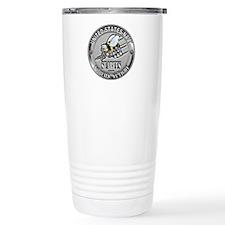 USN Navy Seabees Can Do Metal Travel Mug