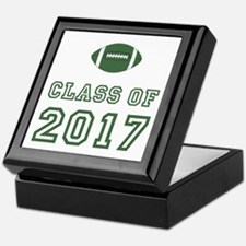 Class Of 2017 Football Keepsake Box