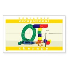 Pediatric Occupational Therap Sticker (Rectangular