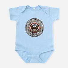USN Navy Veteran Proud Eagle Infant Bodysuit