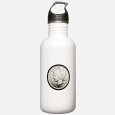 Peace Dollar Water Bottle